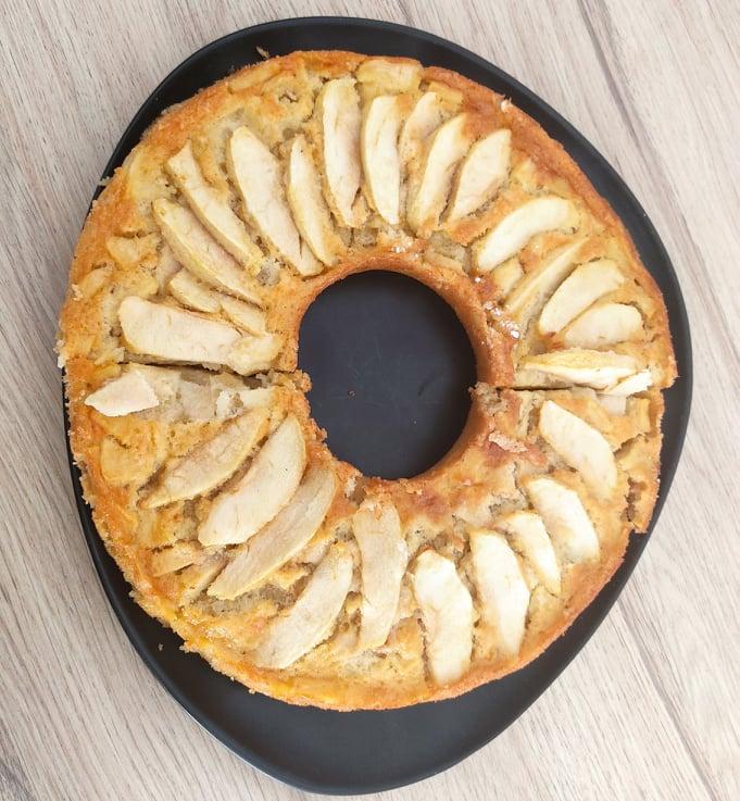 gâteau norvège eplekake