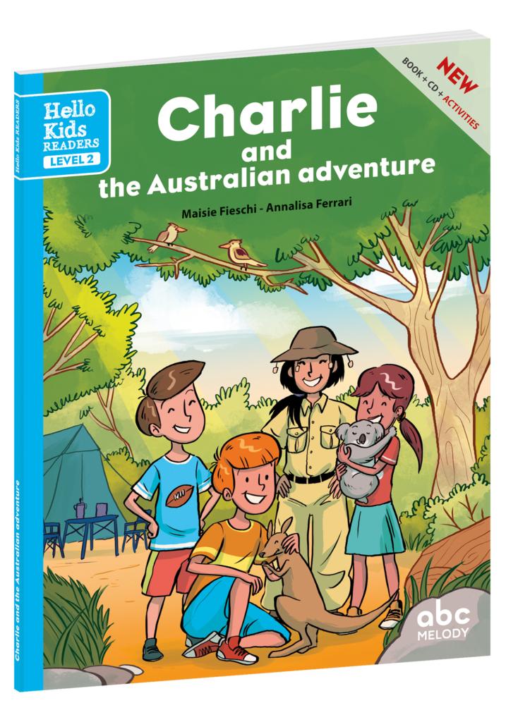 livre charlie australian adventure