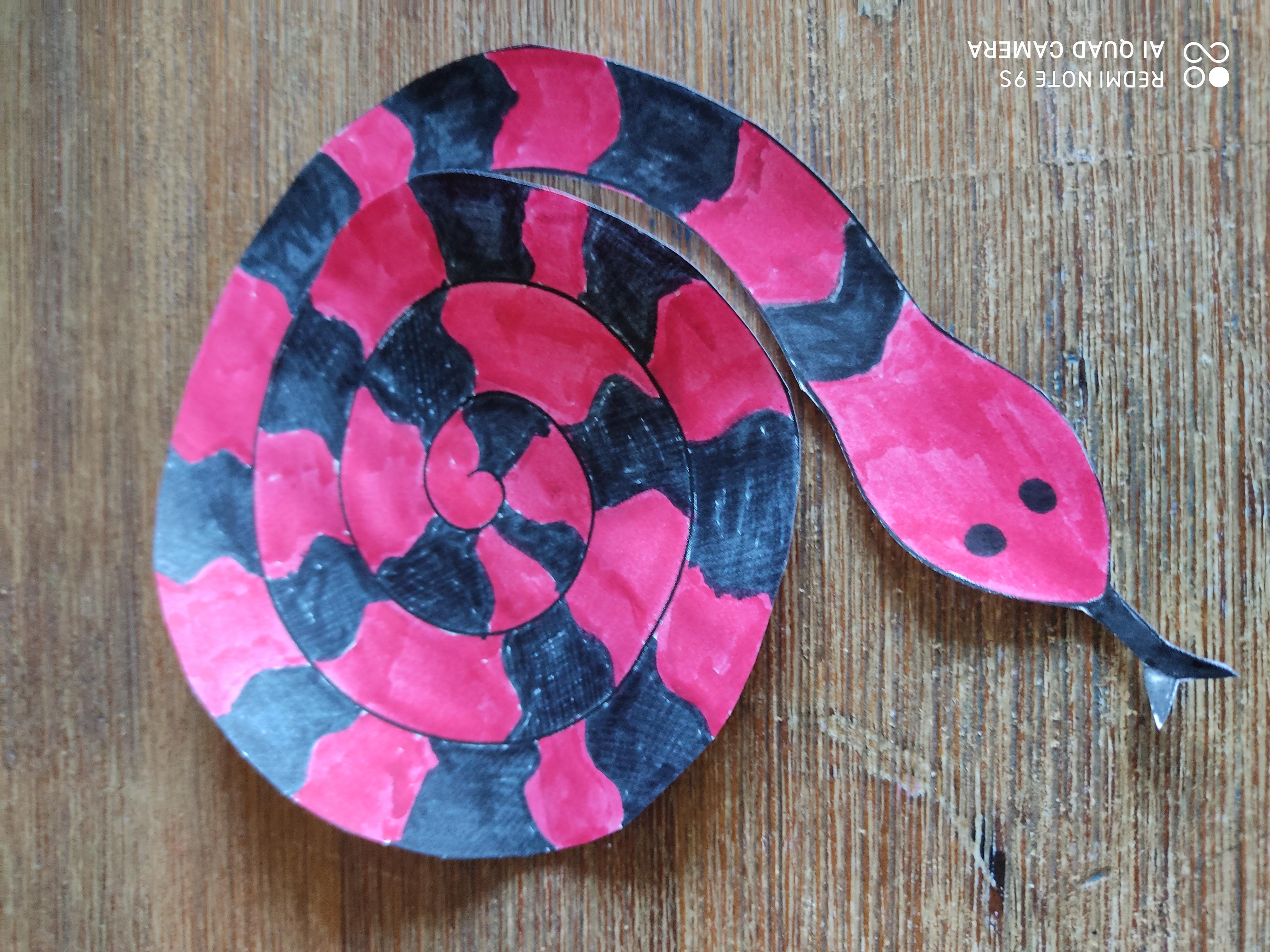 découpe serpent