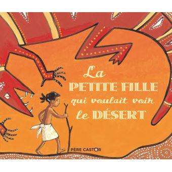 livre fille désert australie