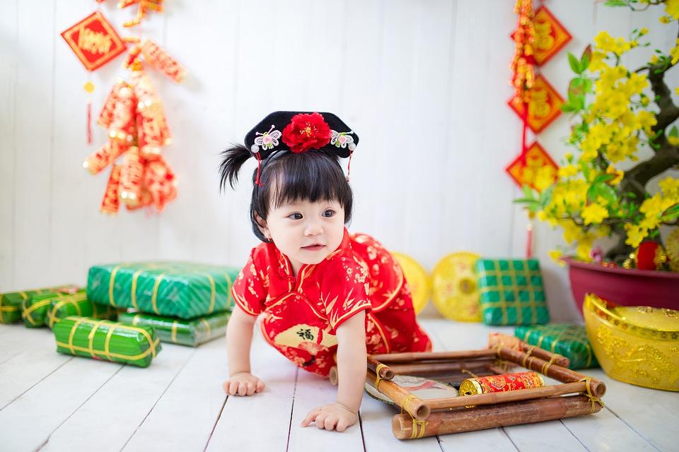 anniversaire bébé chine