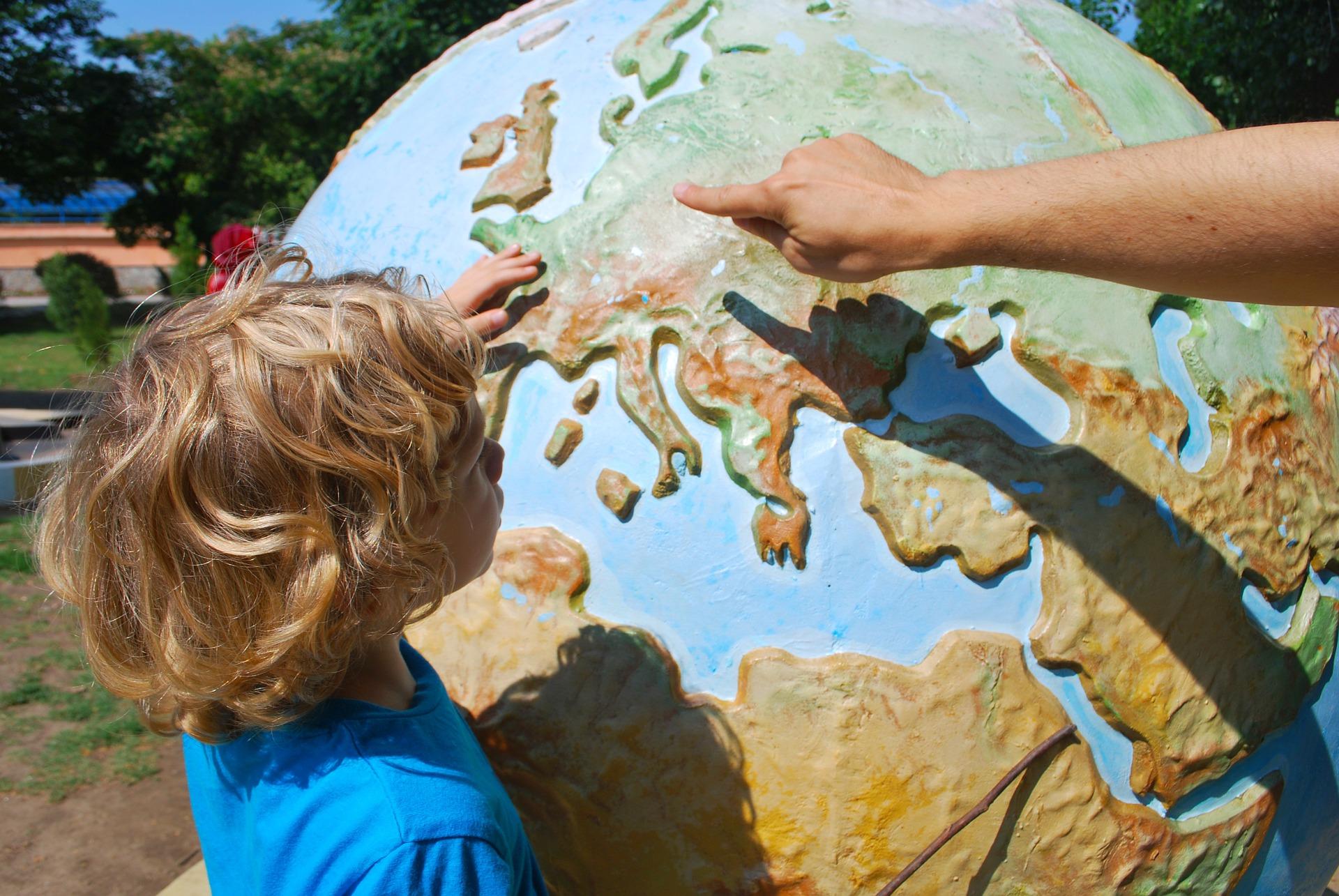 photo voyage enfants